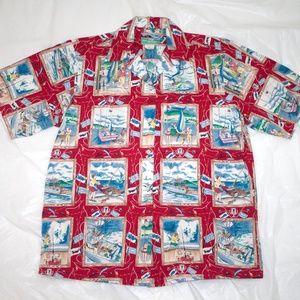 Reyn Spooner Hawaiian Short Sleeve Shirt